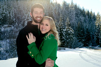 Lleah + Nick's Winter Engagement